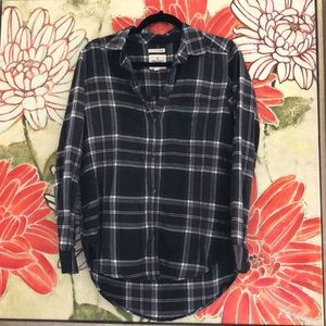 AE ahh-mazingly soft boyfriend fit flannel